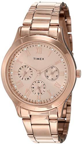 Timex Analog Gold Dial Women's Watch - TW000Q810