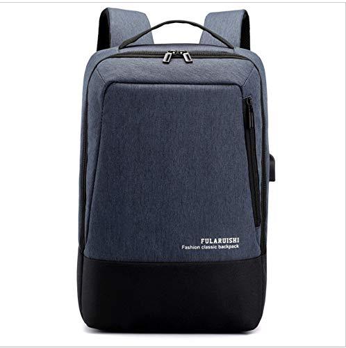 ZGFBAG Computer Rucksack Männer Und Frauen Benutzerdefinierte Outdoor-Reisen Freizeit Handtaschen Freizeit USB Wiederaufladbare Rucksack - Benutzerdefinierte Handtaschen Aus Leder