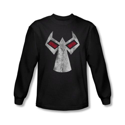 Batman - Herren Bane Maske Langarm-Shirt In Schwarz, Small, Black