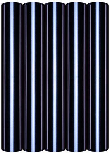 5 x A4 Transferfolie/Textilfolie zum Aufbügeln auf Textilien - perfekt zum Plottern, P.S. Film:5er Set Black