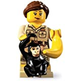 Lego Serie 5 Minifigure - Zookeeper with Chimp