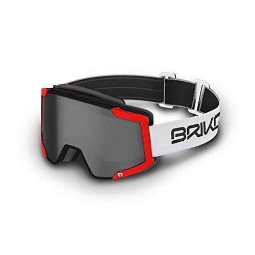 Briko - von Ski-Masken - Lava FIS 7.6 - MT BLK FL ORANG -SM2 - ONE
