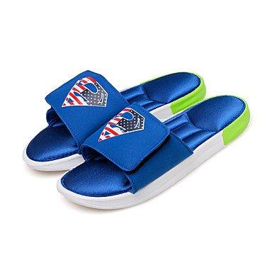 I nuovi uomini SlippersSummer Comfort Light Suole PU informale all'aperto sandali piani del tallone sandali US11 / EU44 / UK10 / CN46