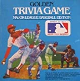 Golden Trivia Game Major League Baseball...