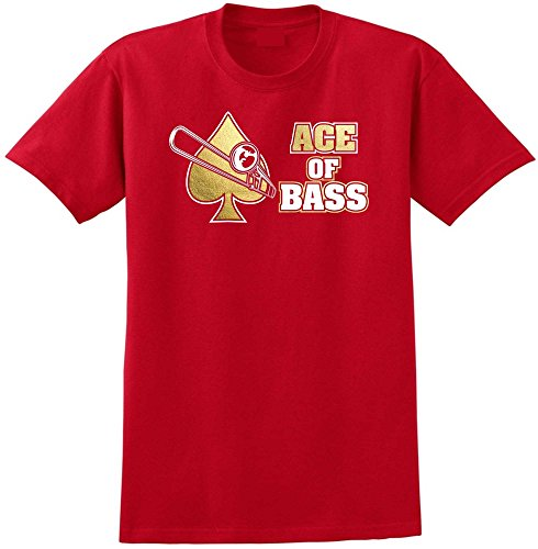 Trombone Ace - Red Rot T Shirt Größe 87cm 36in Small MusicaliTee