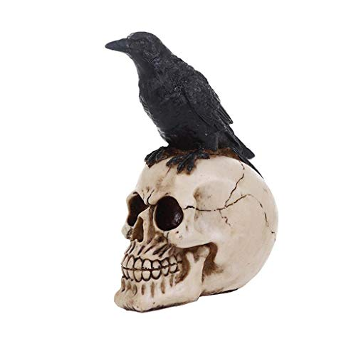Horror-menschlicher Schädel, Halloween-Hauptdesktopverzierungen, Geschäfte, Thema-Party-Einzelteile