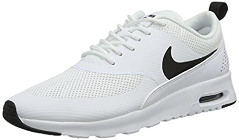 Nike Air Max Thea, Chaussures de Running Femme, Blanc (White/Black), 40 EU