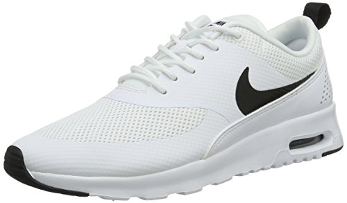 Nike Damen Wmns Air Max Thea Laufschuhe, Weiß (White/Black), 38.5 EU (Wmns Air)