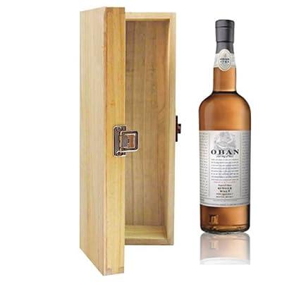 700ml Oban 14 YO Whisky in Hinged Wooden Gift Box