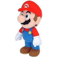 Super Mario - Muñeco de peluche de Mario (21 cm)