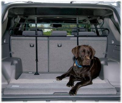 Ottima qualita' griglia separatrice Deluxe Universale per Cani e Animale Domestici Merci Auto SUV + 1 Adesivo da PC Gratis