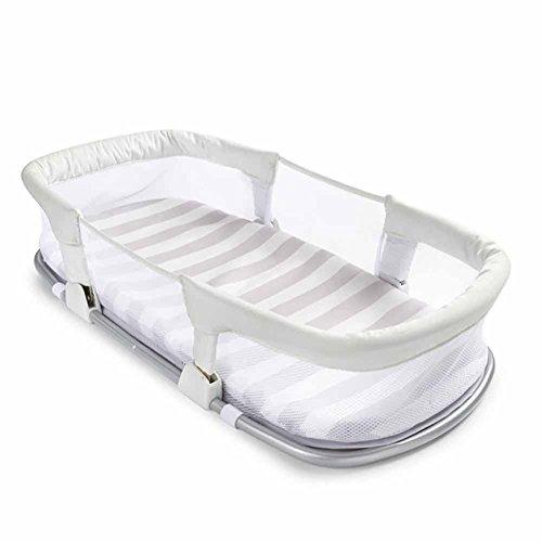 QIAN Baby-Sicherheit Tragbare Klappbett Bett multifunktionale Isolationsbarriere Bett Harn-Reise bassinets Baby