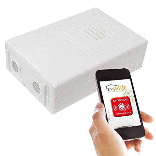 Preisvergleich Produktbild e-sylife esy-alinon-fr Bewegungsmelder Wassermelder weiß