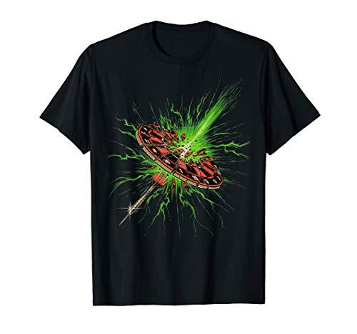 T-Shirt für Dart Spieler - flash bullseye - Teamshirt