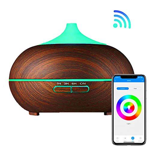 Difusor de Aromas Inteligente Wifi Si Smart, Humidificador aromatizador Ultrasónico para Aceites Esenciales...