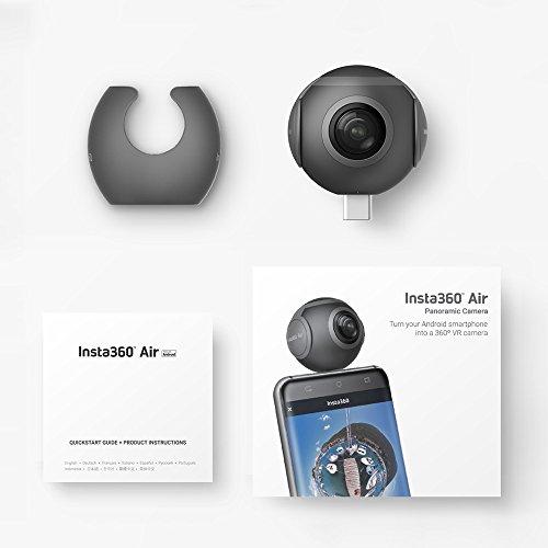 Insta360 Air Compact Mini Panorama 360 Grad 3K HD Kamera Dual Weitwinkel-Fischaugen-Objektiv VR Modus für OPPO R9 / Huawei P9 Mate9 / LG V20 Andriod Smartphone - 6