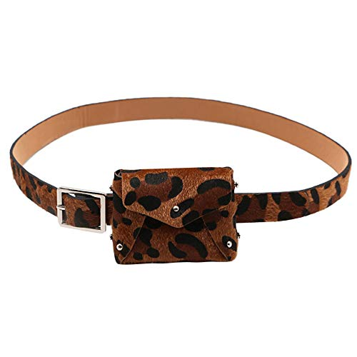 d7caf4f65b Classic Travel Belt Hip Bum Bag.Fashion Ladies Women Leopard Ajustable Hasp  Purse Small Belt