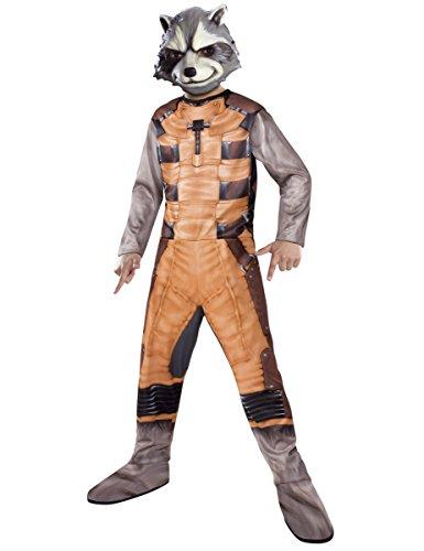 Raccoon Kostüme Kinder Rocket Maske (Waschbär Rocket Raccoon Kostüm für)