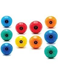 Loumet - Gym Ball - 9kg - A Hybrid Slam Ball & Medicine Ball