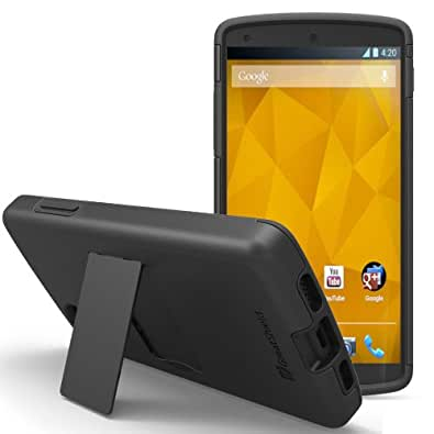 GreatShield Legacy Dual Layer Protective Case with Stand for the New Google Nexus 5/LG Nexus 52013