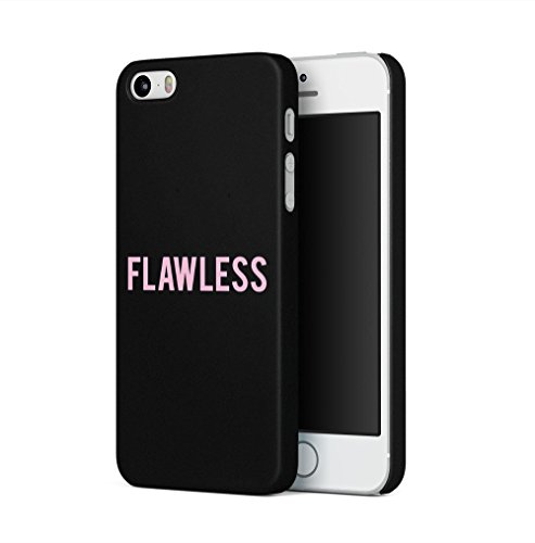 Hipster-fällen (Pink Flawless Apple iPhone 5 / iPhone 5S / iPhone SE SnapOn Hard Plastic Phone Protective Fall Handyhülle Case Cover)
