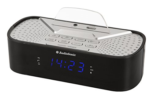 Audiosonic CL-1463 - Radio despertador de 0.6