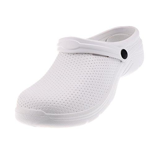 IPOTCH Zueco Trabajo Antideslizante Unisex EVA Zapatos