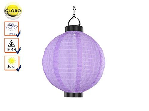 Lampe solaire solar couleur: violet