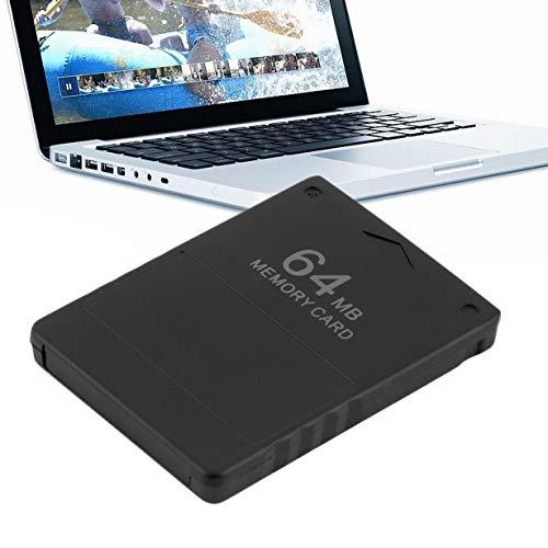 camellia Schwarz ABS Shell 64MB-Speicher-Kartenspiel Sparer Daten-Stick-Modul für Sony PS2 PS für Playstation 2 (schwarz) - Ps-daten-modul