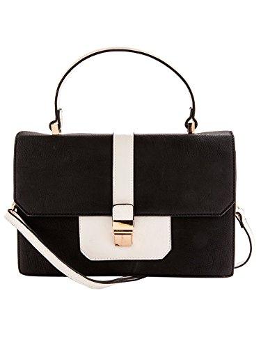 Balsamik - Borsa a mano, accessorio moda - - Size : 1 - Colour : Nero e bianco