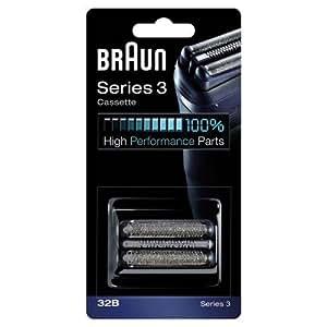 Braun 32B Replacement Foil Multi Silver BLS Cassette