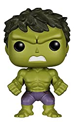 Assemble Marvel's Avengers to defeat man's mightiest foe - Ultron! Collect the whole team, including the Avengers: Age of Ultron Hulk POP Vinyl Figure! The Green Goliath measures approximately 3 3/4-inches tall. Collect them all!