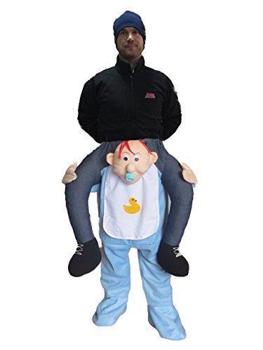 Piggyback Baby carry Me Kostüm Maskottchen Fancy Hirsch Party Kleid