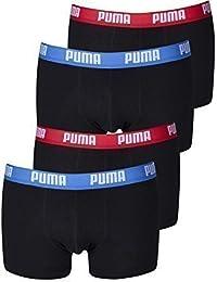 Puma boxer de sport basic lot de 4 slips en différentes couleurs 521025001