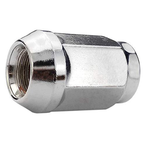 Carbonado Stix Radmuttern M12x1,5 SW19 Rad Muttern Kegelbund 60° 34mm passend für Alufelgen 1 Stück - Räder Fe Santa