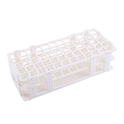 Yosoo Test Tube Rack Kunststoff 60 Löcher Halter Lab Storage Lager 3 Schichten Passen 16mm Reagenzgläser