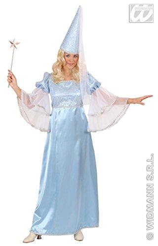 WIDMANN Feenkostüm für Damen, Blau, Größe XL (44-46)