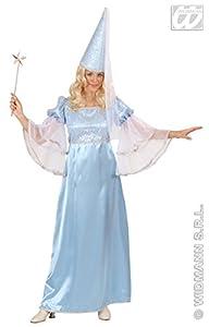 WIDMANN Winter Fairy Fancy Dress (Dress, Hat with Veil), Size XL (disfraz)