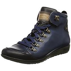 Pikolinos Lisboa W67_i17 Zapatillas Altas para Mujer Azul Blue 42 EU