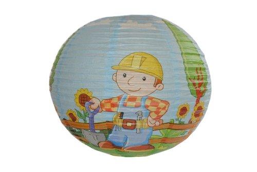 Papier Laterne / Lampenschirm Bob der Baumeister für Kinder Papierlaterne Laternen Lampion Lampions