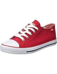 Beppi Canvas Shoe, Zapatillas de Deporte Exterior para Mujer, Rojo (Vermelho), 38 EU