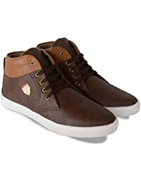 Duster Men's Stylish Brown Color Synthetic Leather Casual Shoe