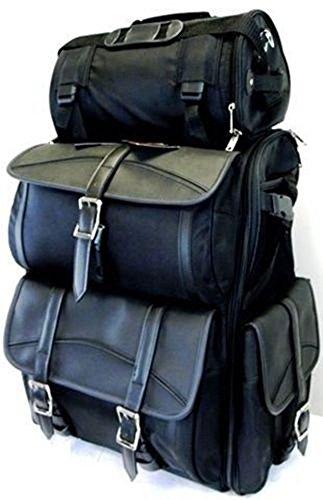 713ed706753b Vance Leather VS348 Motorcycle Sissy Bar Bags/Travel Luggage - 30