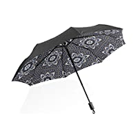 Umbrella Rain Boots for Women Dutch Beautiful Daisy Flower Portable Compact Folding Umbrella Anti Uv Protection Windproof Outdoor Travel Women Big Umbrella