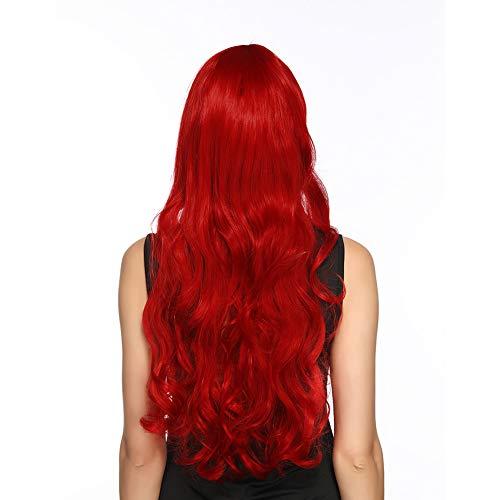 80cm Perücke,Fashion Perücke,Wigs Perücke,Fasching Haare für Halloween, -