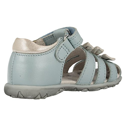 Start-rite filles Cassia Bleu clair en cuir Sandales Blu (Azzurro)