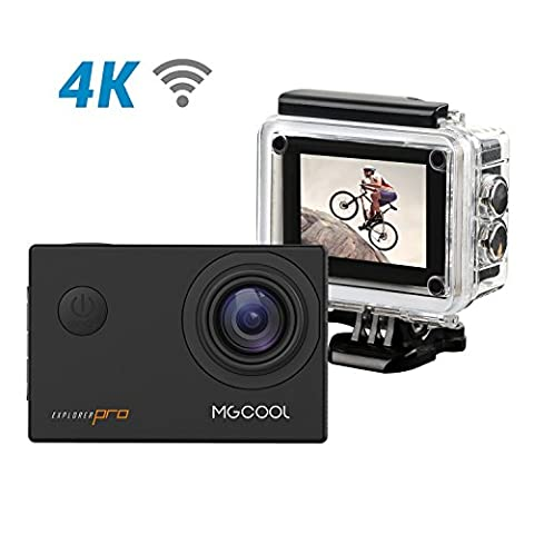 4K Ultra HD Sport Action Camera, MGCOOL Explorer Pro 16MP WIFI 30M Waterproof Camera 170 Wide-Angle Lens 2