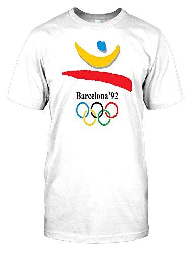 Barcelona 92 - Summer Olympics Mens T Shirt - white - Men...
