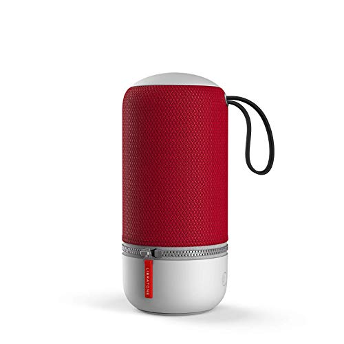 Libratone ZIPP MINI 2 Smart Wireless Lautsprecher (mit Alexa Integration und AirPlay 2) cranberry red