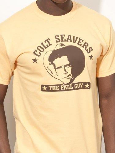 BIGTIME.de T-Shirt EIN Colt für alle Fälle Fall Guy Colt Seavers E23 - Gr. XL Dollar Fall